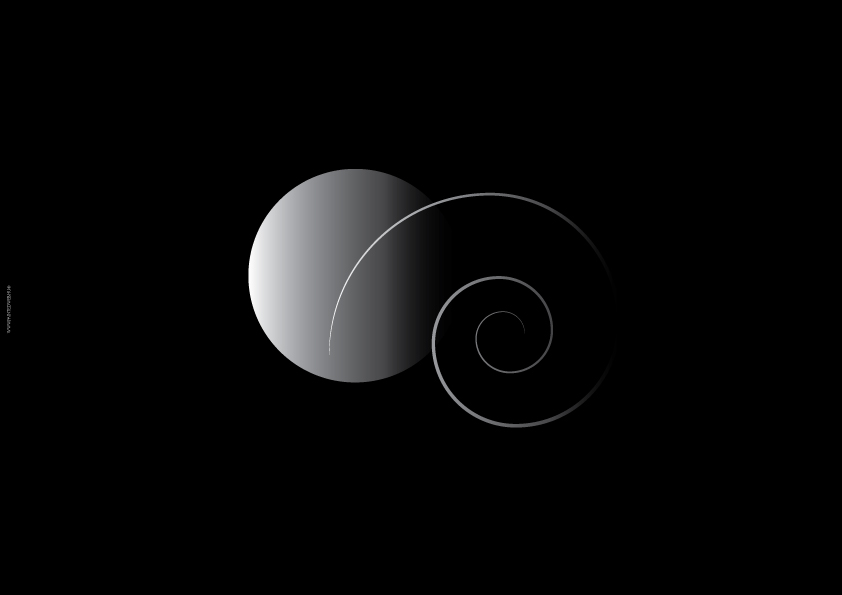 geometric, black and white shapes